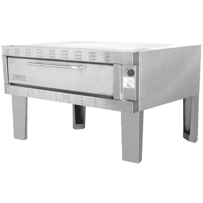 """ZESTO 1202SS DECK PIZZA / BAKE OVEN ELECTRIC (60""""L X 36""""D) SS"""
