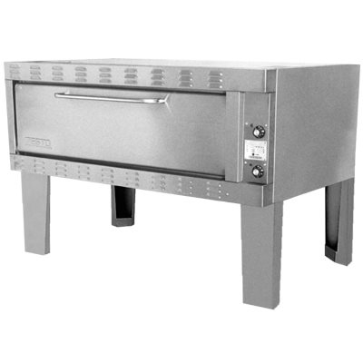 """ZESTO 1203SS DECK PIZZA / BAKE OVEN ELECTRIC (60""""L X 42""""D) SS"""