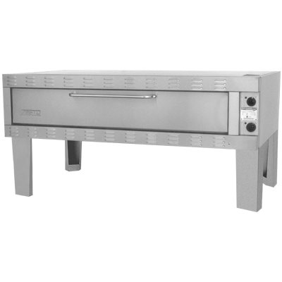"""ZESTO 1502SS DECK PIZZA / BAKE OVEN ELECTRIC (72""""L X 42""""D) SS"""