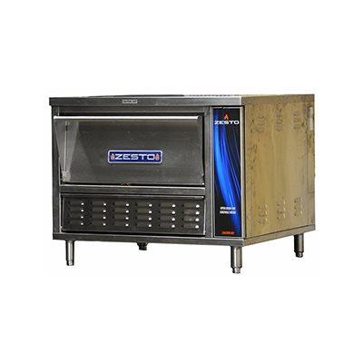 MICRO COUNTER PIZZA / BAKE OVEN GAS 1 CAVITY, 1 DECK