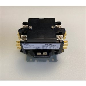 CONTACTOR 2 POLE,30 AMP 120V COIL
