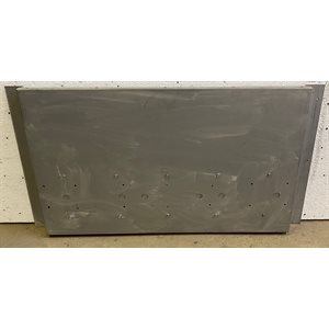 CONVEYOR OVEN METAL BACK ASSEMBLY FOR 4018